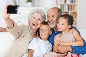 show a family enjoying the benefits of sound estate planning